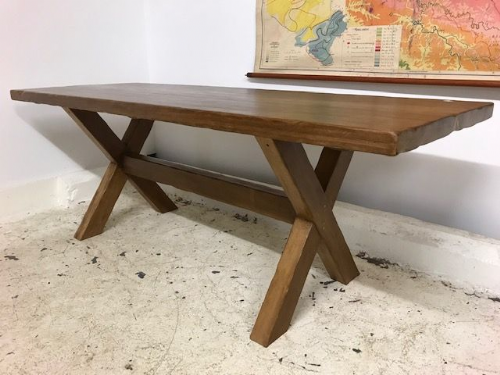 Impressive Solid French Dining Table - JH191